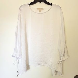 Michael Kors White Dolman sleeve top